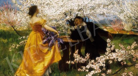 Csók István - A tavasz ébredése | 25. Aukció aukció / 99 tétel