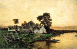 Tölgyessy Artúr - Malom a folyóparton
