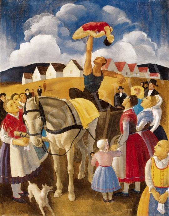 Gábor Jenő - Mutatványos | 25. Aukció aukció / 118 tétel