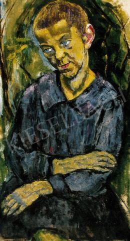 Járitz, Józsa - Boy in Blue Shirt