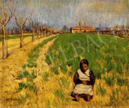 Maticska, Jenő - Girl in the Field