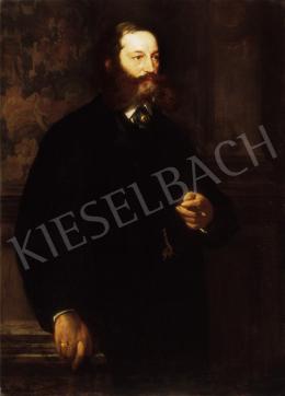 Benczúr Gyula - Férfiportré