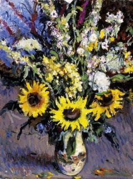 Boldizsár, István - A Bucket of Wild Flowers