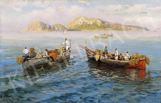 Giardiello, Giuseppe - Fishing in Naples | 4th Auction auction / 30 Item