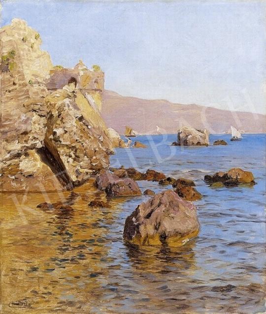 Nádler Róbert - Mediterrán tengerpart   4. Aukció aukció / 32 tétel