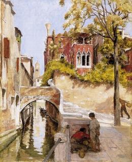 Ismeretlen festő, 1900 körül - Velence