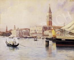 Koszkol Jenő - Velence a tenger felől