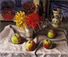 Schilling János - Csendélet almával