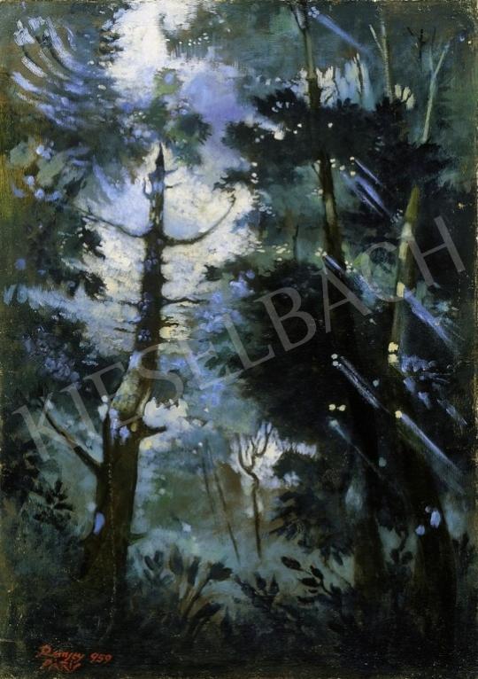 Remsey Jenő György - Fények erdőben | 4. Aukció aukció / 63 tétel