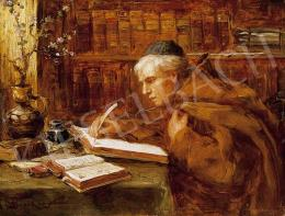 Bruck, Lajos - In the Library