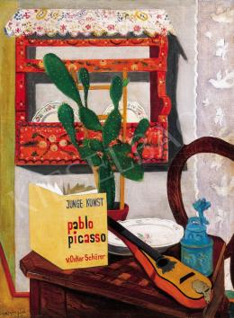Vörös, Géza - Still - lIfe with a Picasso Book