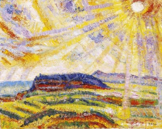 Vén, Emil - Badacsony Landscape in Lights   4th Auction auction / 155 Item