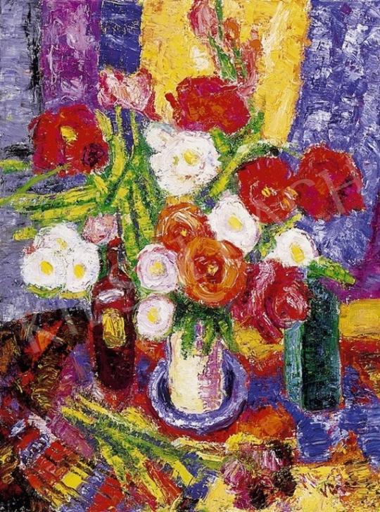 Vén Emil - Virágcsendélet | 4. Aukció aukció / 156 tétel