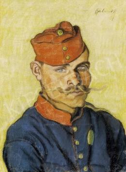 Bálint Rezső - Francia katona