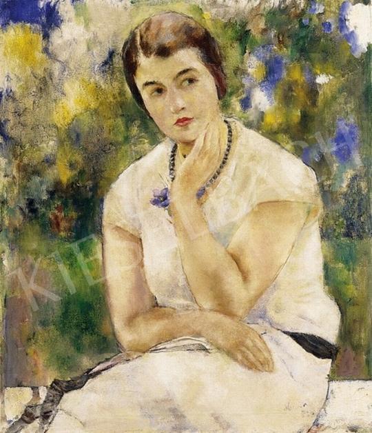 Heintz Henrik - Női portré | 4. Aukció aukció / 220 tétel