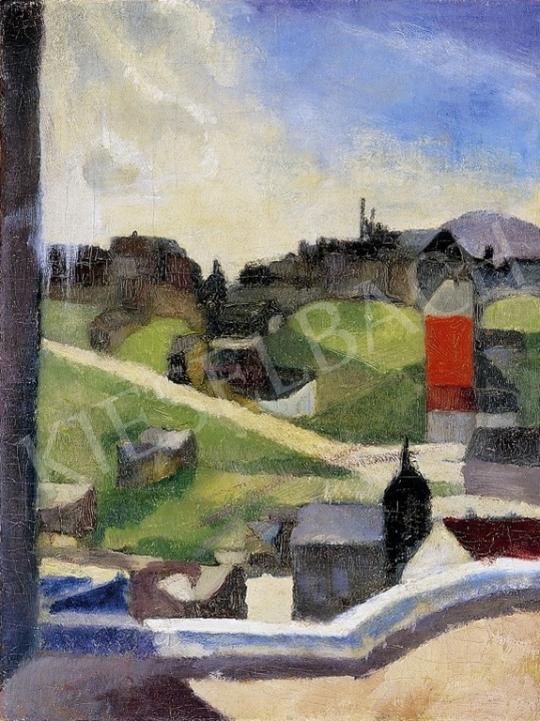Duray, Tibor - Town Scene (Naphegy) | 4th Auction auction / 311 Item