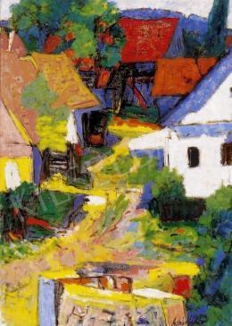 Molnár, Sándor - Landscape, 1960
