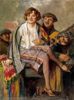 Geiger, Richárd - Little Girl and his panelns