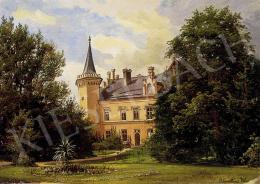 Ismeretlen festő - Romantikus kastélyparkban