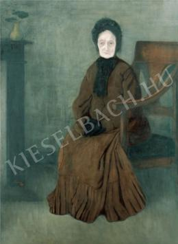 Rippl-Rónai József - Öreganyám, 1894