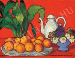 Rippl-Rónai József - Narancsos csendélet, 1910 körül