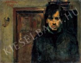 Czóbel Béla - Önarckép, 1903