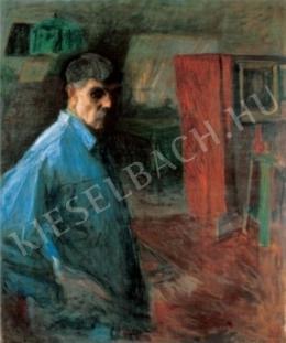 Hollósy Simon - Önarckép, 1916