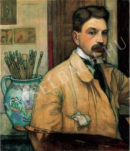 Zádor István - Önarckép (1910)