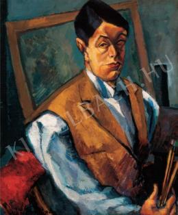 Tihanyi Lajos - Önarckép, 1912