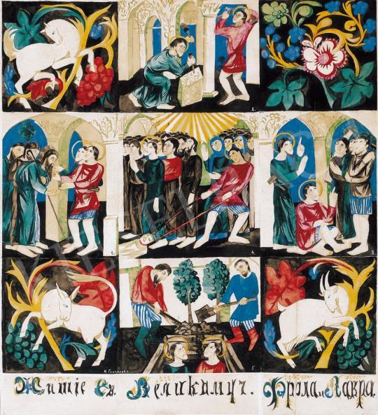 Goncsarova, Natalia - Scenes out of the Life of Saints | 21st Auction auction / 26 Item