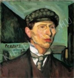 Perlrott Csaba Vilmos - Önarckép, 1907