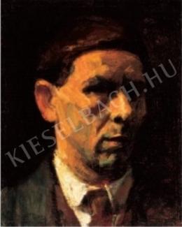 Czigány Dezső - Önarckép, 1920-as évek