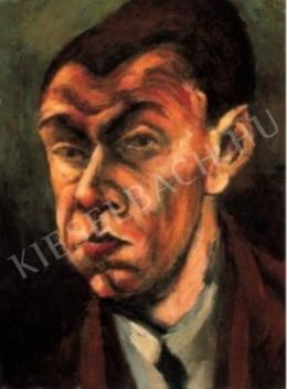 Tihanyi Lajos - Önarckép (1910-es évek vége)