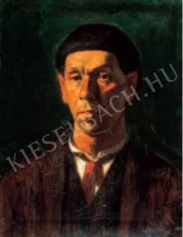Czigány Dezső - Önarckép, 1923