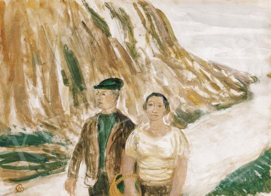 Bernáth Aurél - Délutáni séta | 21. Aukció aukció / 27 tétel