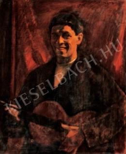 Czigány Dezső - Önarckép, 1912-1914 körül