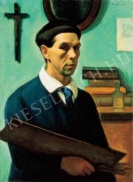 Czigány Dezső - Önarckép, 1913 körül