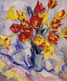 Vass Elemér - Tulipánok