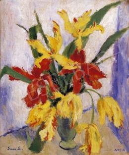Vass Elemér - Vörös és sárga liliomok