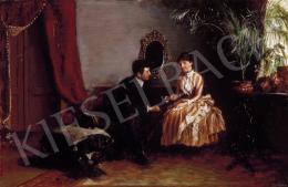 Jendrassik, Jenő - Courtship in the Saloon