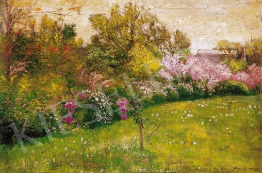 Szlányi Lajos - Tavaszi kert | 21. Aukció aukció / 29 tétel