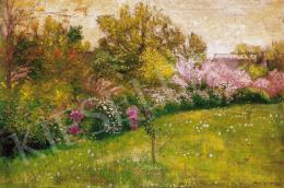 Szlányi Lajos - Tavaszi kert