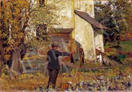 Márton Ferenc - Festő a szabadban