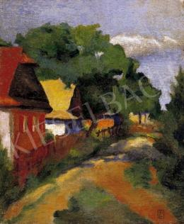 Litteczky, Endre - Street Scene in Felsőbánya