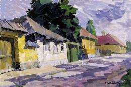 P. Kováts, Ferenc - The Fazekas Street in Nagybánya