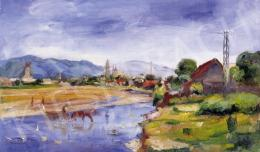 Boldizsár, István - View of Nagybánya