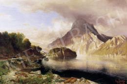 Schaeffer, August - Osztrák táj
