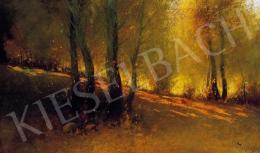 Zeller Mihály - Őszi erdő