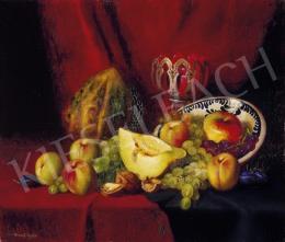 Romek Árpád - Gyümölcsös csendélet