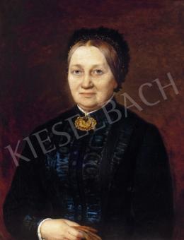Barabás Miklós - Nagymama, arany kitűzővel